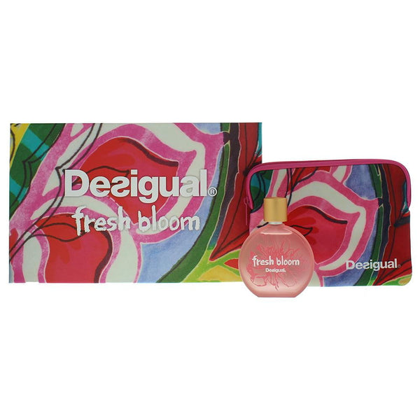 Desigual Fresh Bloom Eau De Toilette 2 Pieces Gift Set