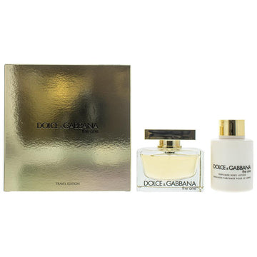 Dolce & Gabbana The One Travel Edition Eau De Parfum 2 Pieces Gift Set
