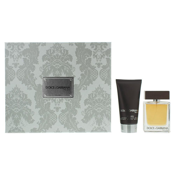Dolce & Gabbana The One Eau De Toilette Gift Set : Eau De Toilette 50ml - Aftershave Balm 75ml