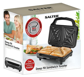 Salter Deep Fill Sandwich Toaster