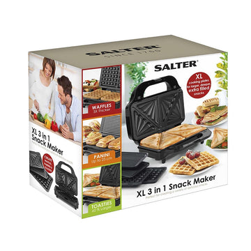 Salter XL 3 In 1 Snack Maker