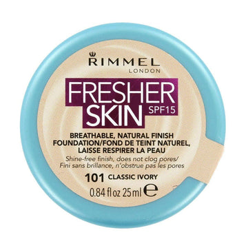 Rimmel Fresher Skin Foundation Pot 25ml