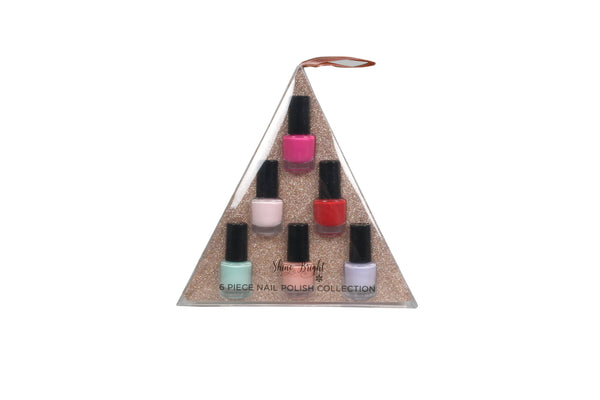 Shine Bright 6Pc Bright Nail Polish Set