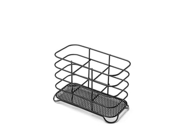 Addis Black Wire Utensil Holder