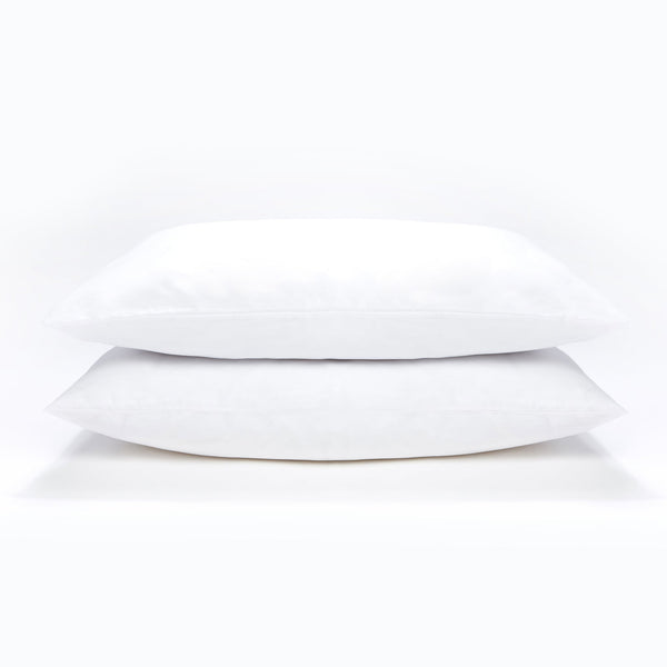 Right At Home White Pillowcase 2Pk