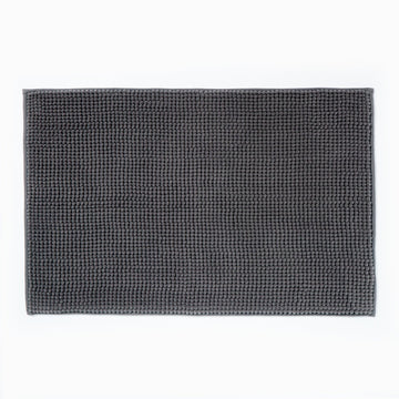 Micro Bobble Bathmat Grey
