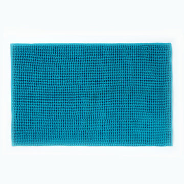 Micro Bobble Bathmat Teal