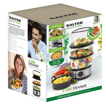 Salter 3 Tier Steamer