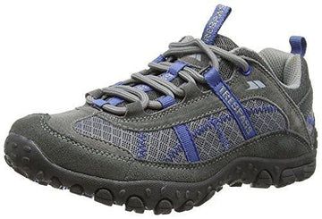 Trespass Fell Walking Shoe Grey/Blue