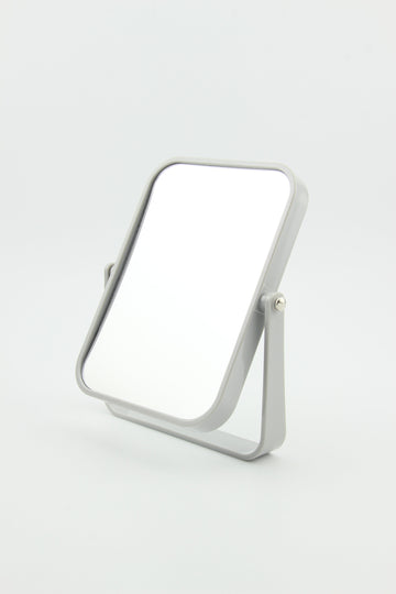Plastic Square Mirror Grey