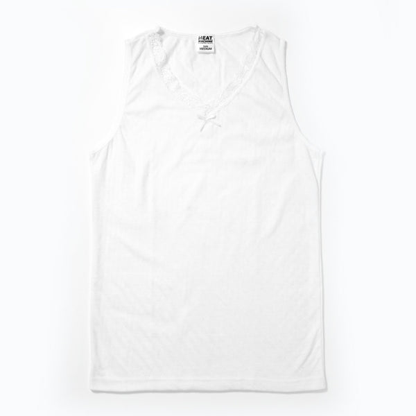 Heat Machine Thermal Vest - White