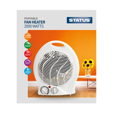 Status Upright Fan Heater 2000W