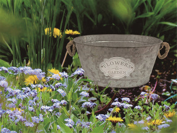 Outmore Flowers & Garden Oval Planter