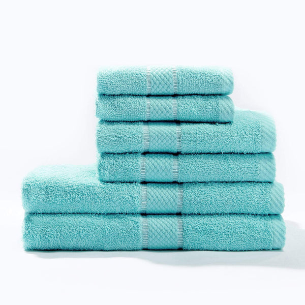 Towel Bale 6pc Aqua