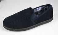 Headland Cord Slipper Navy