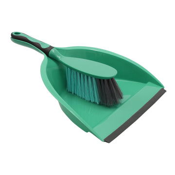 JVL Essentials Dust pan And Brush