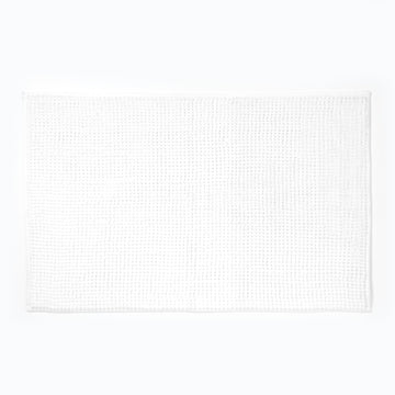 Micro Bobble Bathmat White