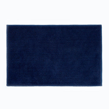 Micro Bobble Bathmat Navy
