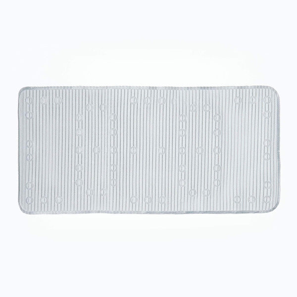 Soft Feel Chrome Grey Bathmat