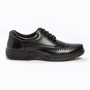 Cushion Walk Lace up Shoe Black