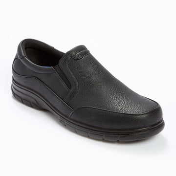 Cushion Walk Slip On Shoe Black