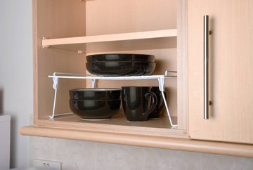 Space Saver Stacking Foldable Shelf