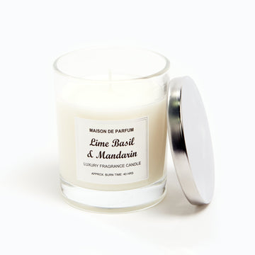 Scented Candle - Lime Basil Mandarin