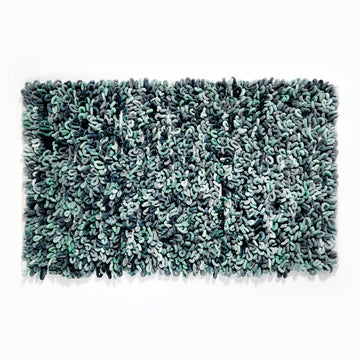Loop Noodle Bath Mat - Blue