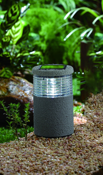 Outmore Concrete Effect Solar Light