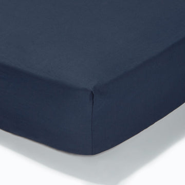 At Home Percale Fitted Sheet