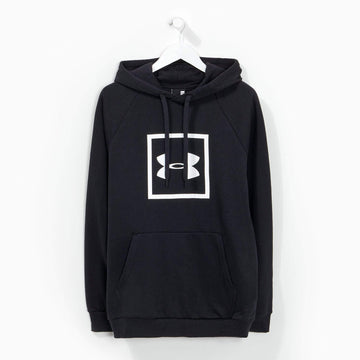 Under Armour Boxed Logo Hoody Black