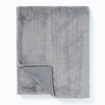 Super Soft Cashmere Touch Throw Grey