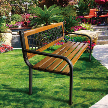 Outmore Wooden Garden Bench