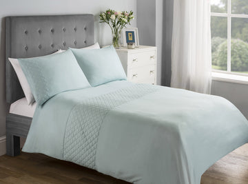 At Home Shell Quilted Panel Bed Set