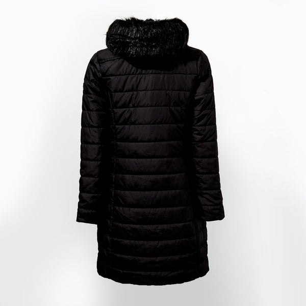 Regatta Fritha Longline Padded Coat Black