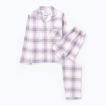 Love To Dream Check Print Wincey Gift Packed Pyjama Set