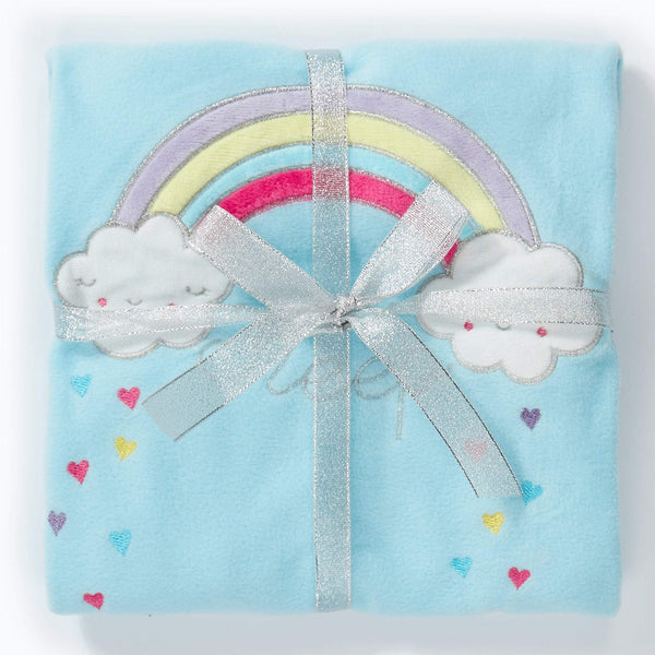 Hullabaloo Rainbow Fleece Gift Packed Pyjama Set