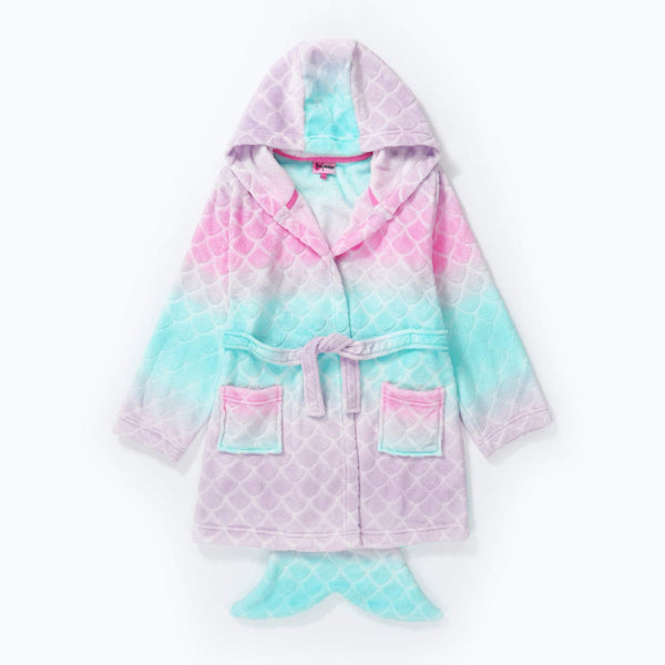 Hullabaloo Mermaid Fleece Robe