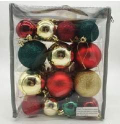 Traditional 51 piece Bauble Pack