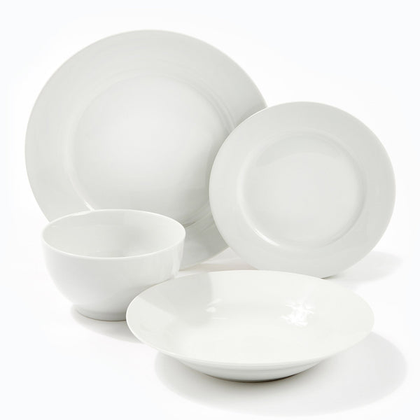 Signature White Dinner Plate