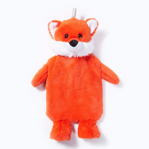 Novelty Plush Fox Hot Water Bottle 1L