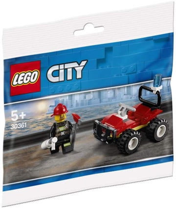 Lego City - Armoured Fire Quad