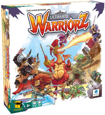 Ultimate Warriorz Board Game
