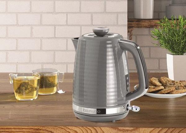 Daewoo Hive 1.7L Textured Kettle Grey