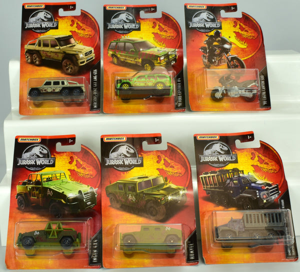 Matchbox Jurassic World Collection