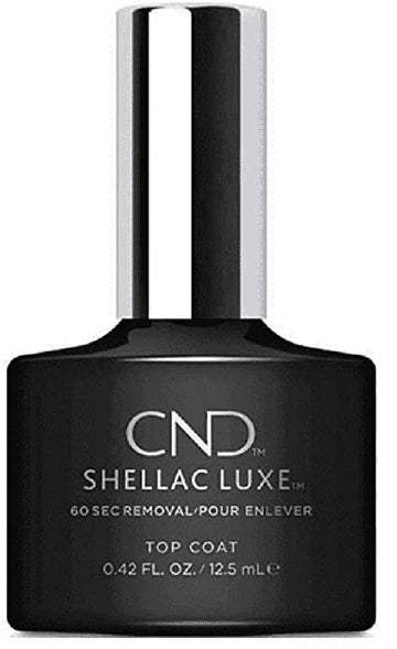 CND Shellac Luxe Top Coat Nail Polish 12.5ml
