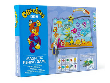 Cbeebies Magnetic Fishing Game