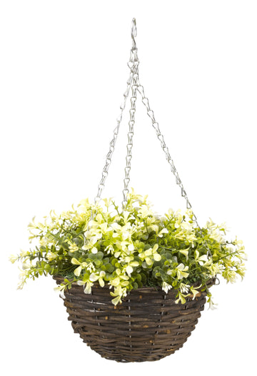 Outmore Hanging Basket Yellow Leaf