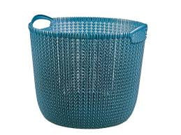 Curver Large Round Knit Storage Basket