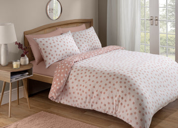 At Home Dotty Bedset